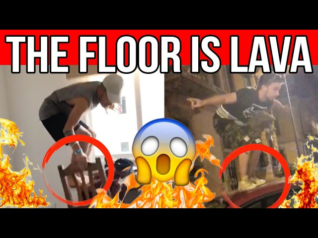 THE FLOOR IS LAVA COMPILATION 🔥 Matt Bise