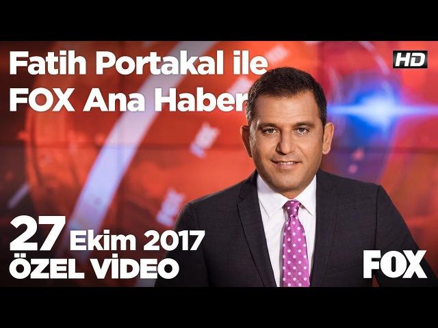 Doktor az ama memnuniyet yüksek! 27 Ekim 2017 Fatih Portakal ile FOX Ana Haber