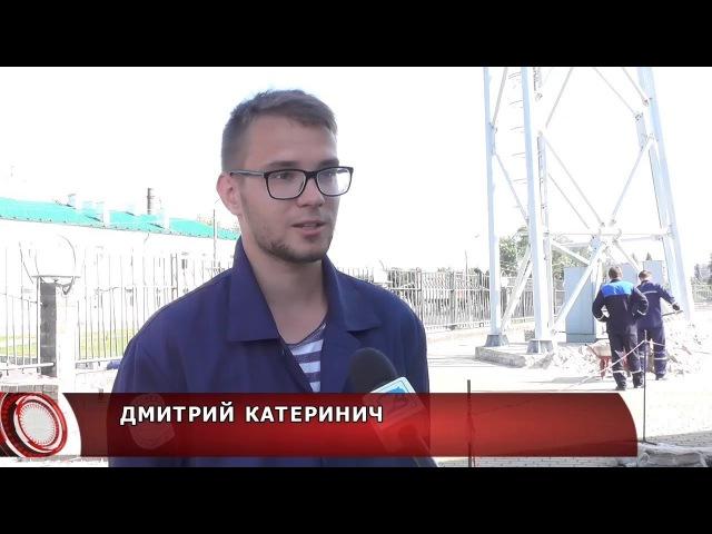 Стройотряды ПолесГУ занимаются благоустройством Пинска