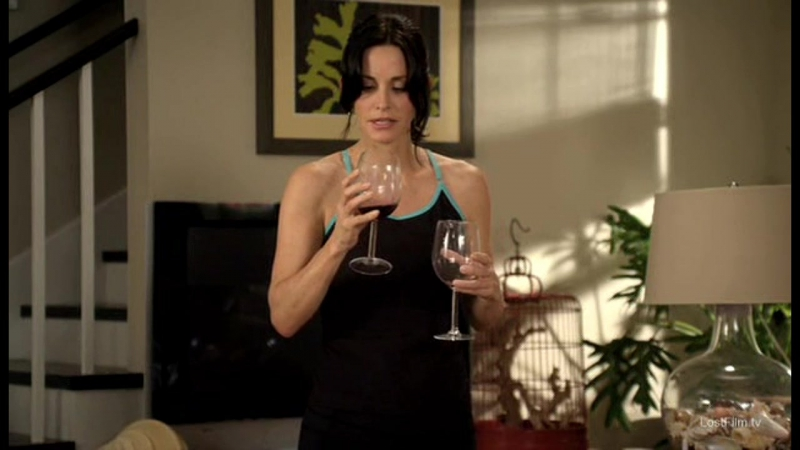 Cougar town |1х21| вино по утрам