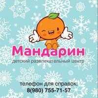 Логотип Детский центр Мандарин Мегаторг
