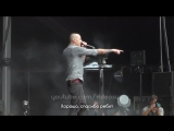 Честер Беннингтон остановил концерт из-за упавшего парня (POINTS OF AUTHORITY Сидней 2013)