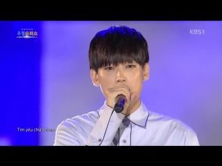 Inseong & Jaeyoon (SF9) - 희나리 (Xa Em Kỷ Niệm) @ Korea - Vietnam Friendship Super Show 171105