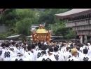 Япония тур 2 Киото Гион мацури вынос микоси из Ясака дзиндзя