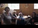 Встреча ветеранов в кафе Тарелка