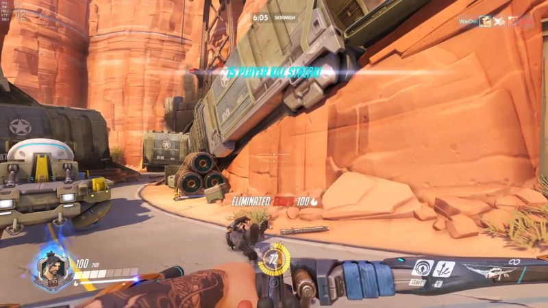 Hitboxes in Overwatch