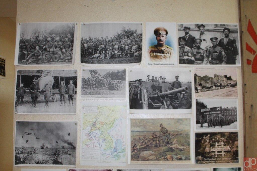 Луганские поисковики представили выставку, посвященную войнам начала XX века