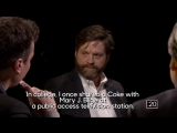 True Confessions with Zach Galifianakis and Bill Maher #topnotchenglish