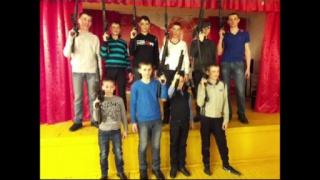День защитника Отечества в стиле Лазертаг в школе.