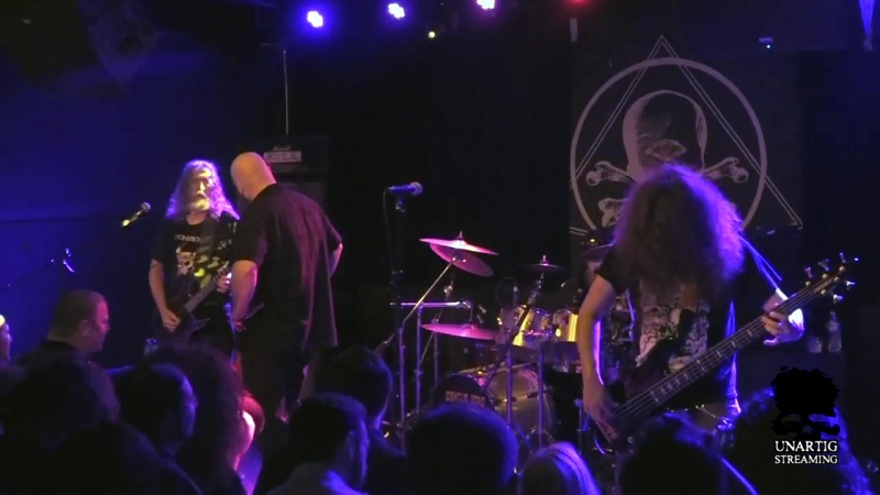 Manilla Road live at Saint Vitus on October 25, 2017