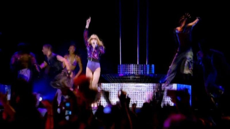 Madonna Lucky Star Hung Up Confessions Tour 2006