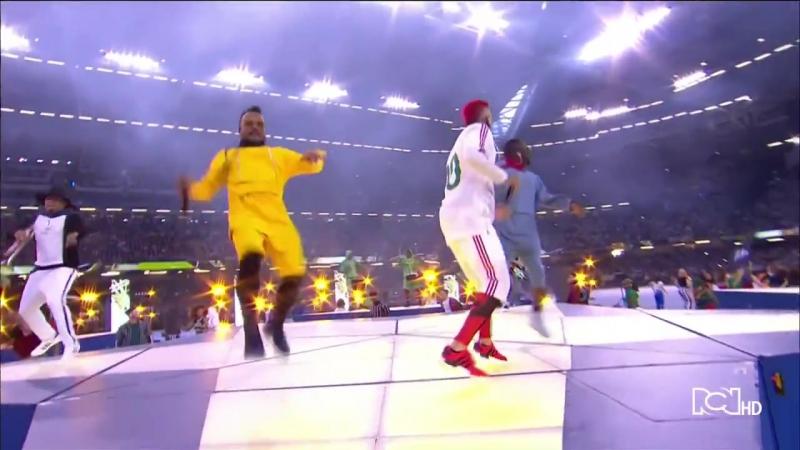 The Black Eyed Peas - Final Champions League 2017. Лига чемпионов УЕФА», Кардифф, Уэльс