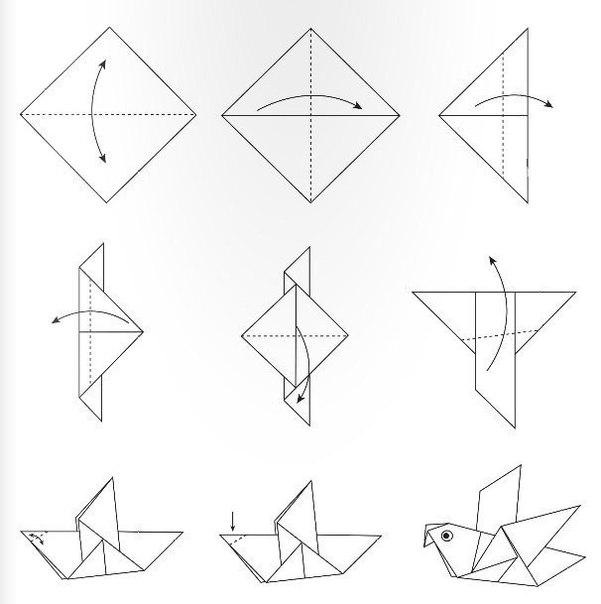 Поделки из бумаги в технике оригами