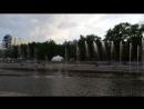 Поющий фонтан на плотинке Екатеринбурга 2