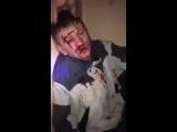 Чеченские нацисты избивают и унижают русского парня