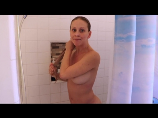 Cherie deville - mom catches son spying on her in shower