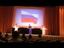 Первое выступление на большой сцене Надежды!