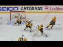 Murray stretches out to make a great save on Aberg