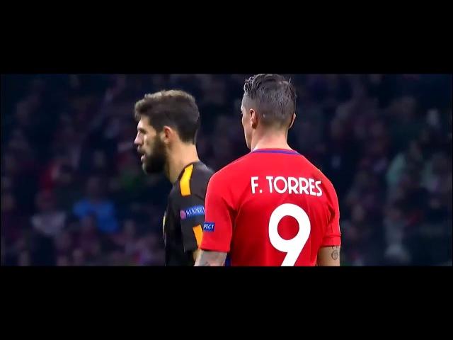 Fernando Torres vs AS Roma UCL Home (22/11/2017)