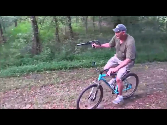 Hickok45 - Grandpa On Bike Shooting Uzi Meme (GTA San Andreas Theme)