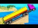 Мультики - Цветные Грузовики и Машинки для Детей Пожарная Машина Синий Трактор и...
