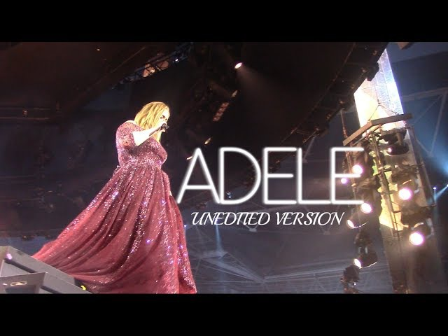 Adele / The Finale / Wembley Stadium (London) / 28th June 2017 (Unedited version) GOLDEN CIRCLE VIEW