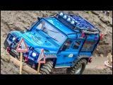 WOW, COOL! A lot of RC scale offroad cars in Action!