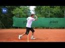 Подача и секреты приема в теннисе Часть 6 Техника приема подачи