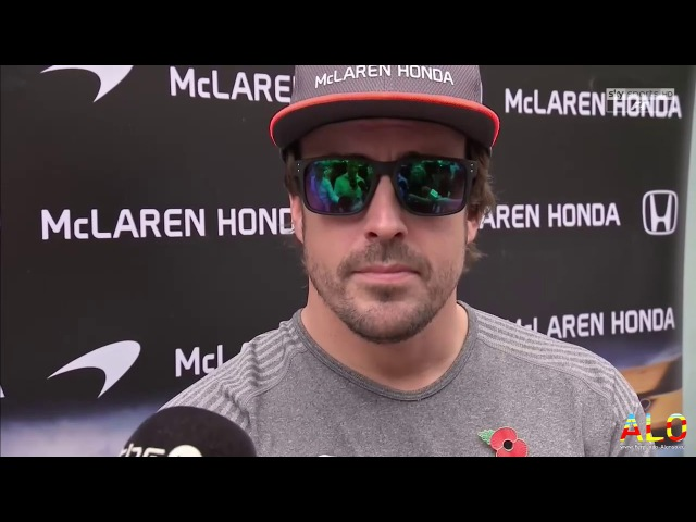 F1 2017 | R19 - Brazil | Fernando Alonso Thursday Interview