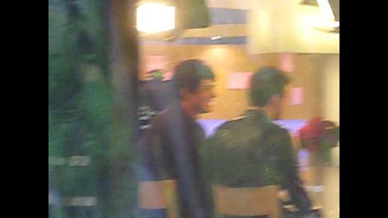 Adam Lambert and Kris Allen at NBC Today Show 5/28/2009
