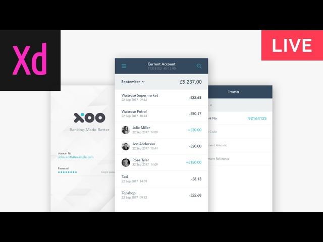 How to Design Prototype Adobe XD Tutorial