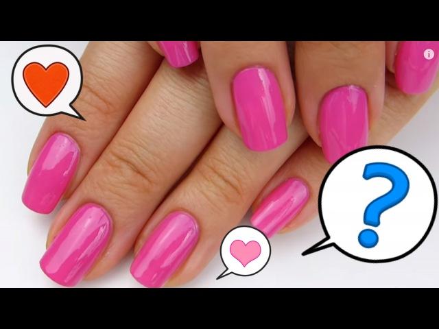 Как НАУЧИТЬСЯ АККУРАТНО красить ногти Техника нанесения лака Маникюр в домашних условиях