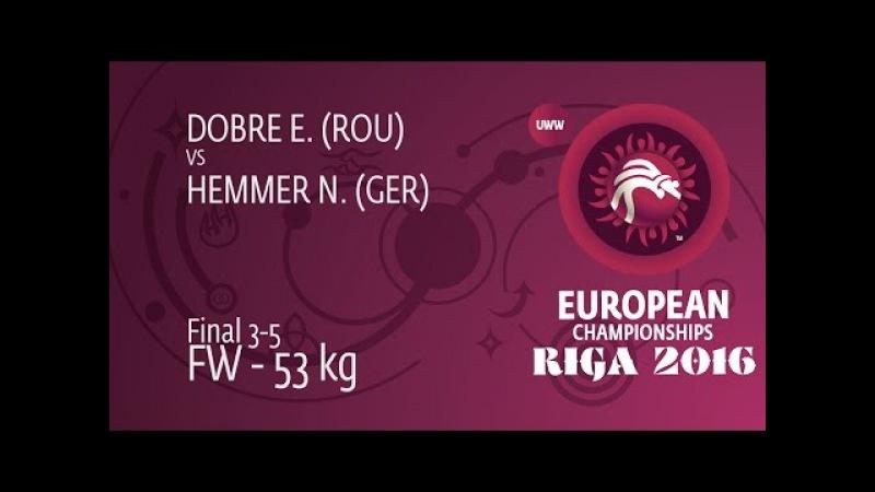 BRONZE FW 53 kg N HEMMER GER df E DOBRE ROU by FALL 4 6
