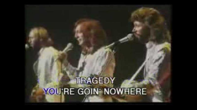 Bee Gees - Tragedy (Original Footage) - Karaoke