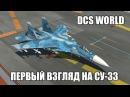 DCS World | Су-33 | Первый взгляд