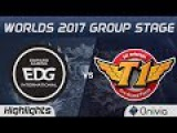 EDG vs SKT Highlights World Championship 2017 Group Stage Edward Gaming vs SK Telecom T1 by Onivia