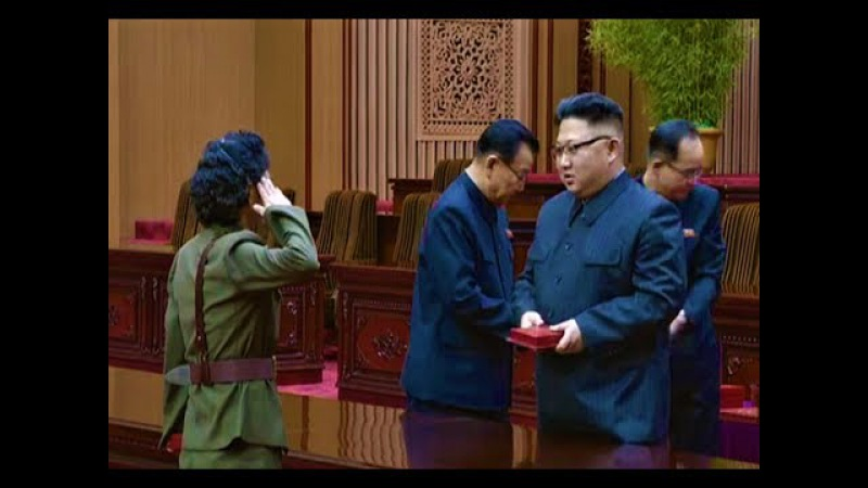Kim Jong Un Gives Commendations Awarded to Contributors to ICBM Hwasong-14 [CC]