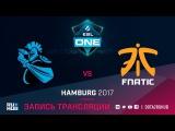 NewBee vs Fnatic, ESL One Hamburg [GodHunt, Dead_Angel]