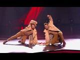 Танцы: Александр Крупельницкий и Илья Оши (BTRKT Feat. Ezra Koenig - New Dorp. New York) (сезон 4... из  ...