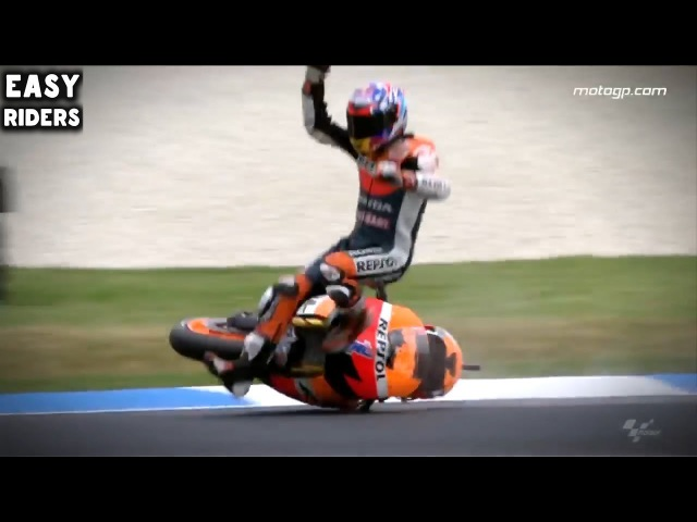 Motorcycle high side crash / Motorbike Fails Wins 2017