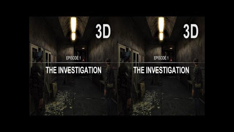 3D TV VR box video The Investigation Side by Side SBS google cardboard