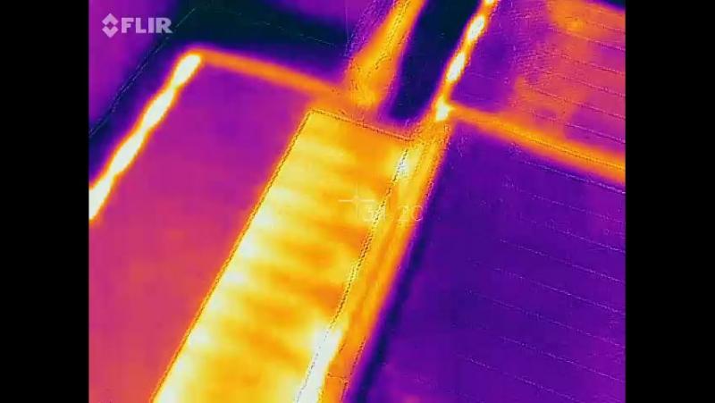 Теплолюкс Alumia. Проверка тёплого пола после монтажа тепловизором.