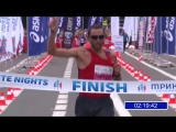 Финиш Юрия Чечуна на марафоне