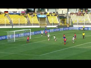 Германия (U-17) - Коста-Рика (U-17)   обзор матча