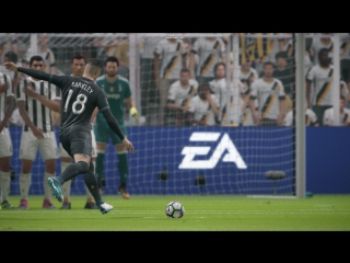 FIFA18. Squad Battle. Голешник со штрафного от Баркли.