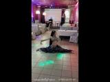 Ланара - танец с саблей в кафе Метелица
