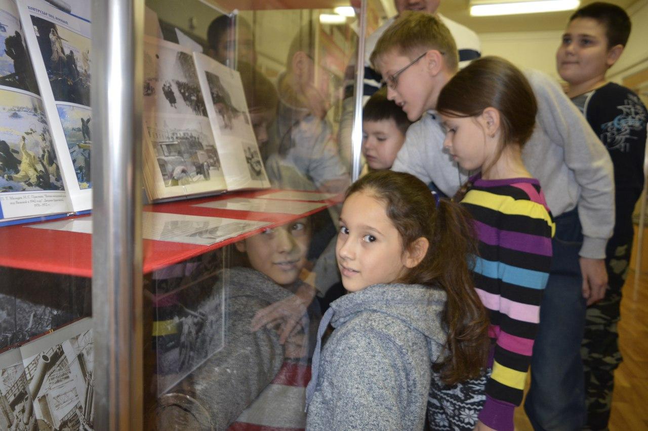 экскурсия по военно-патриотическому музею колледжа №24