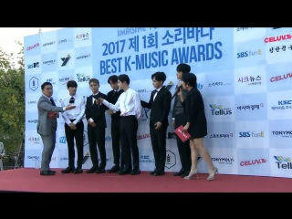 170920 EXO RED CARPET @ 2017 Soribada Best K-Music Awards