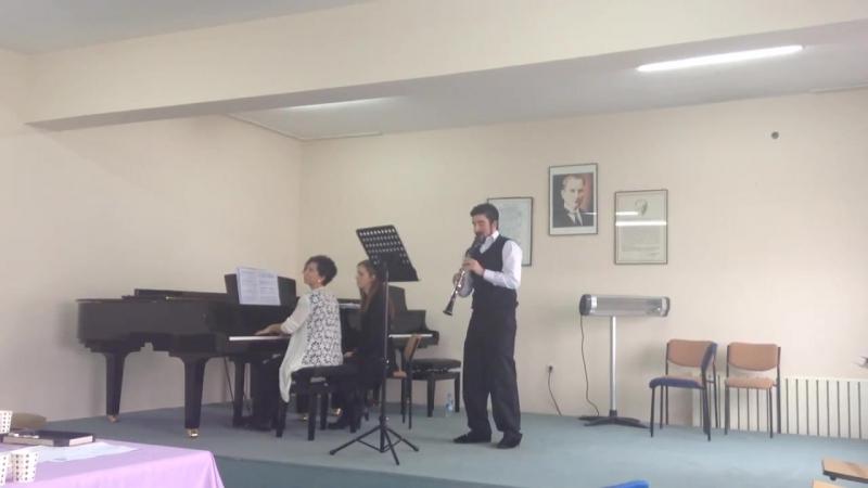 Serif Bagirov Carl Baermann Fantasia Thema Opera Bellini For Clarinet And Piano
