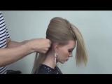 Урок элегантной причёски